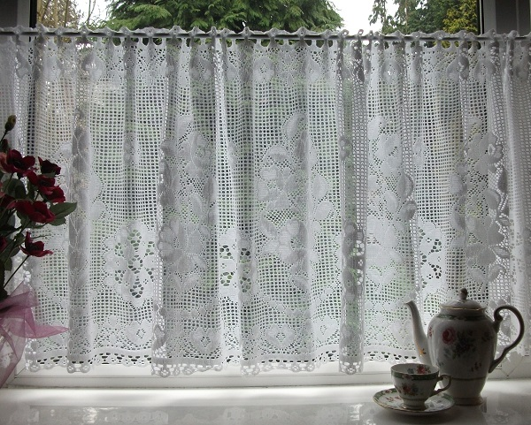 the best 28 images of cafe lace curtains